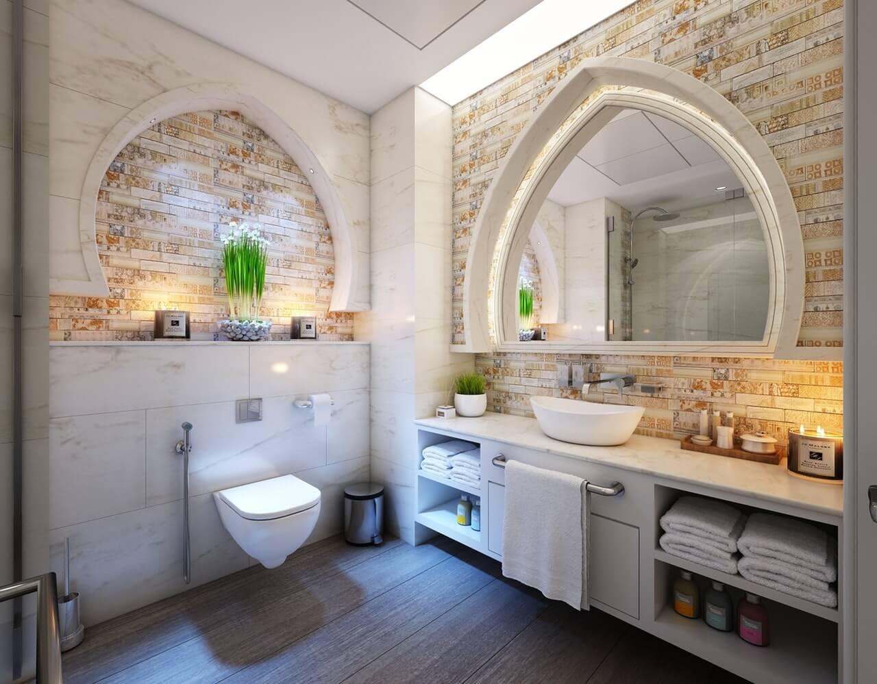 Best Bathroom Flooring Materials - WC Queen